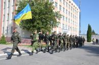 """Бійці батальйону """"Вінниця"""" знову вирушили на Схід наводити лад у звільнених містах"""