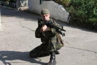 Черговий загін вінницької міліції проходить посилену підготовку перед відправкою в зону АТО