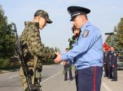 У Вінниці оваціями зустрічали 40 бійців спецбатальйону, які повернулися з зони АТО