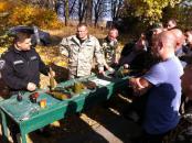 Вінницькі міліціонери, які незабаром вирушать в зону АТО, проходять посилену підготовку