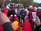 Вінницьких медиків та волонтерів навчали рятувати людей під час вибуху