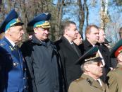 Покладання вінків та квітів з нагоди 70 річниці визволення України