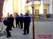 Сьогодні у приміщенні облдержадміністрації знову шукали вибухівку (оновлено)