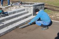Вже в листопаді будівельники закінчать ремонт сходів біля Центрального парку