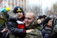 Вінницькі правоохоронці, які повернулись із зони АТО, вірять, що Україна у кожного в серці