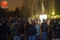 Олексій Некрасов і тисячі вінничан об'єднались навколо палаючого тризуба