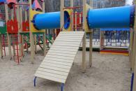 У місті з'явився дитячий майданчик на Міліційній та мультикомплекс по Стельмаха