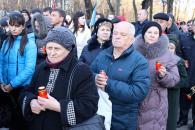 Мітинг-реквієм з відзначення 81-річниці Голодомору 1932-1933 років в Україні