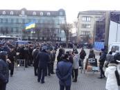 У День Гідності і Свободи вінницькі псевдомайданівці влаштували балаган