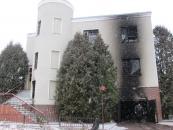 У Вінниці горів будинок на Лермонтова: одна людина загинула, 9 – госпіталізували до лікарні