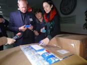 До Вінниці прибула перша партія гуманітарної допомоги від американського міста-побратима – Бірмінгема