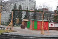 У Вінниці встановлюють Резиденцію Діда Мороза