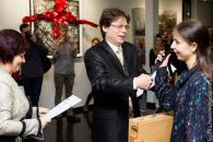 Вінничанка отримала першу премію на конкурсі сучасного мистецтва імені Н. Альтмана