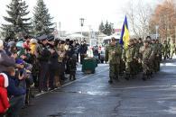 """Зведений загін вінницьких міліціонерів та бійців батальйону """"Вінниця"""" вирушив у зону АТО"""