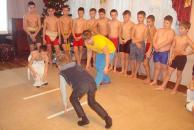 Юні спортсмени привітали з наступаючими новорічними святами своїх ровесників