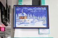 Зимова феєрія у холі Вінницької міської ради