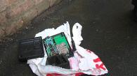 Сьогодні у місті знову шукали вибухівку: біля офісу в центрі міста знайшли пакет з дротами та антеною