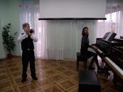 Новорічне сяйво у вінницькій музичній школі №1