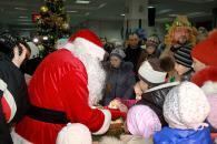 Вінницький Дід Мороз краще грає в шашки ніж Санта-Клаус