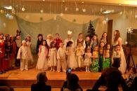 Вихованці міського клубу показали виставу для дітей з «Гніздечка»