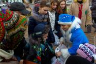 У Резиденції Дідуся Мороза відбувся «День світлих вчинків»