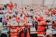 У Вінниці пройшов щорічний парад Дідів Морозів та Снігурок
