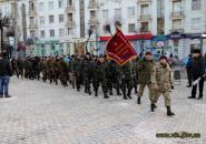 Вінниця зустріла бійців дев'ятого окремого мотопіхотного батальйону