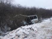 Серед загиблих, внаслідок зіткнення військових автомобілів КРаЗ та автобусу Богдан, вінницький боєць з Літина