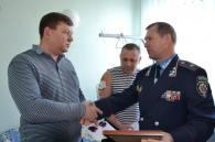 ДАІшники, які нещодавно отримали кульові поранення під Немировом, отримали позачергові спеціальні звання