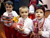 Щедрівки дітлахів пролунали в обласній фіскальній службі