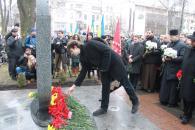 В центрі Вінниці відкрито пам'ятний знак Небесній сотні та загиблим Героям АТО