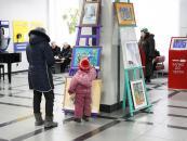 Зимові Вінниця у холі міської ради