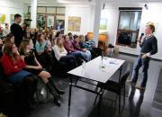 Андрій Любка у Вінниці презентував книгу польської авторки про трагедію нацменшин