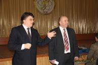 Міністр молоді та спорту України Ігор Жданов завітав із подарунками до рідної школи №12 у Вінниці