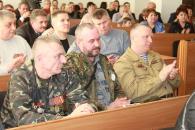 Вінничани, які є учасниками бойових дій на території інших держав, отримали грамоти та премії