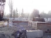 Будівельники приступили до цегляної кладки наступного муніципального будинку