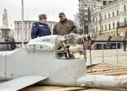 На Михайлівській площі Києва наочно демонструють присутність російських військових в Україні