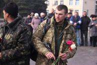 На Вінниччину з Дебальцевого повернулися бійці 128 гірськопіхотної бригади