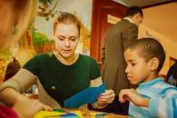 Вінницька молодь влаштувала для вихованців дитячого будинку майстер-класи, ігри та фотосесію