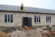 У смт.Піщанка будують дитячий садочок для 80 діток. План - встигунти до 1 вересня