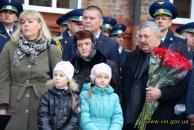 В пам'ять загиблого на Луганщині вінничанина Євгенія Пікуса відкрито меморіальну дошку