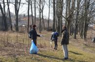 У парку Дружби народів зібрали 300 мішків сміття