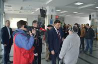 """Сьогодні до Вінниці завітала знімальна група каналу """"1+1"""" разом з ведучою програми «ТСН-тиждень» Аллою Мазур"""