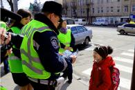 """Сьогодні у Вінниці пішоходи-порушники отримали від ДАІ """"червоні картки"""""""