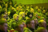 Гурт «ТІК» передав подарунки і відіграв концерт для бійців 81-ї бригади