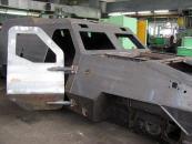 До липня на Львівському бронетанковому заводі виготовлять 40 бронеавтомобілів «Дозор-Б»