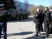 Технічна база спецпідрозділу «Вінниця-2» поповнилась першим бронетранспортером