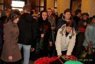 Вінничани провели в останню дорогу бійця батальйону «Донбас» – Романа Мельничука