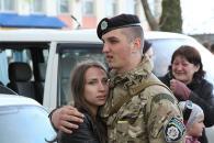 12-й загін вінницьких правоохоронців вирушив у зону АТО