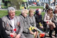 Фоторепортаж з покладання квітів із нагоди відзначення Дня Чорнобильської трагедії